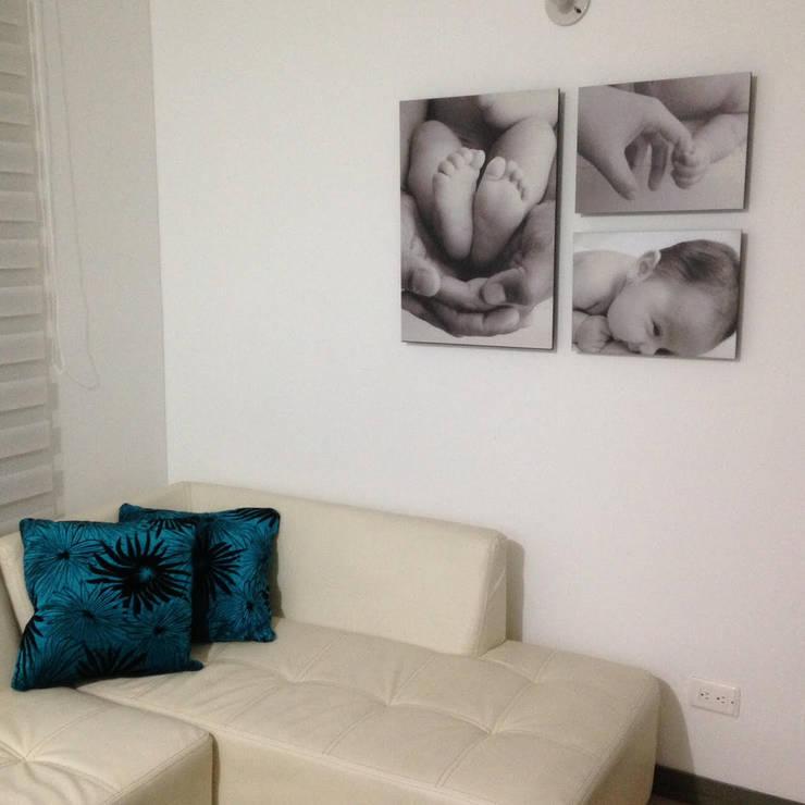 Nursery/kid's room by Cuarto de Luz: fotografía y decoración, Modern