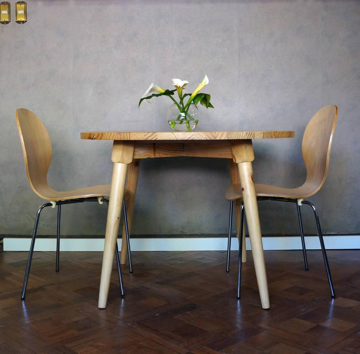 Muebles vintage: Comedor de estilo  por vez diseño