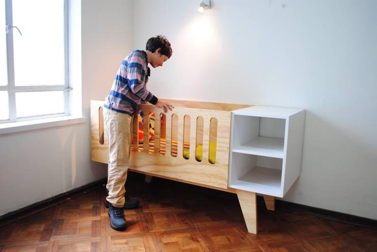 Muebles vintage: Habitaciones infantiles de estilo  por vez diseño