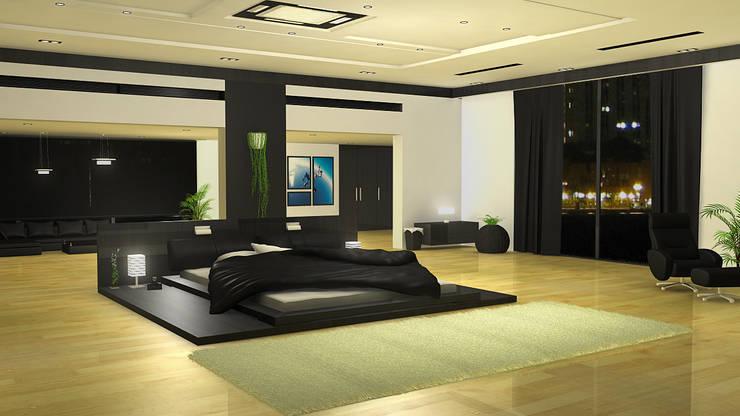 Dr. Suraj:  Bedroom by director4,Eclectic