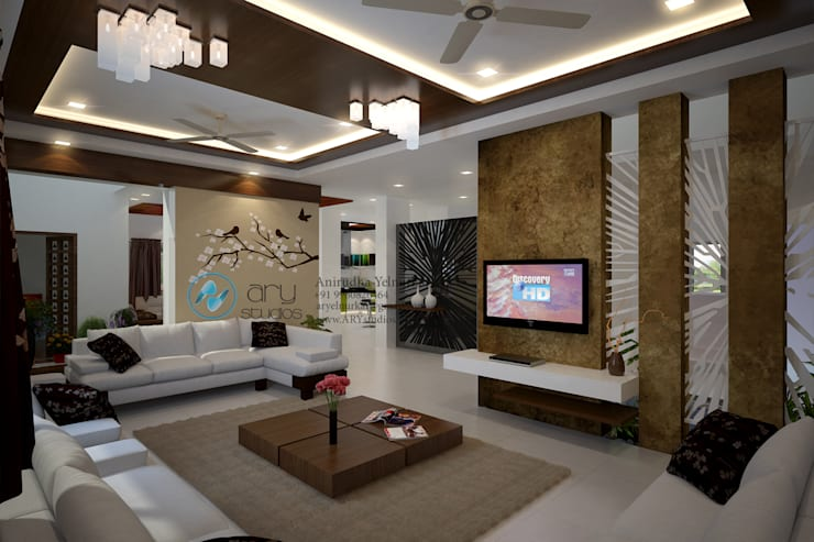 Dr. Suraj: modern Living room by director4