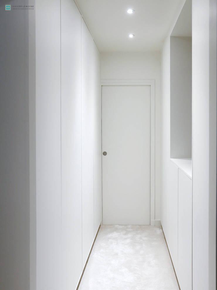 r novation d un appartement parisien par xavier lemoine architecture d 39 int rieur homify. Black Bedroom Furniture Sets. Home Design Ideas