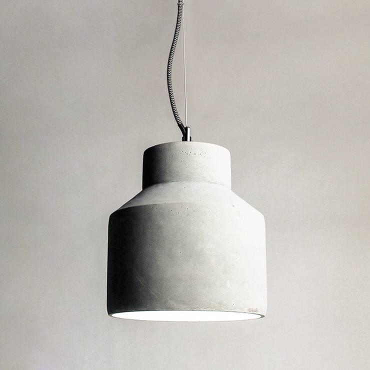 stylische h ngeleuchten aus beton. Black Bedroom Furniture Sets. Home Design Ideas