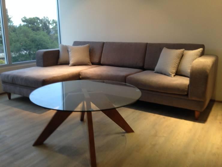 Sala de tv: Salas de estilo  por DSeAl Muebles.