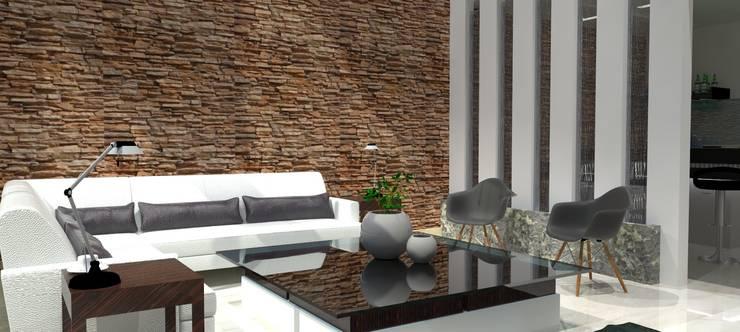 Sala: Salas de estilo  por FyA Arquitectos