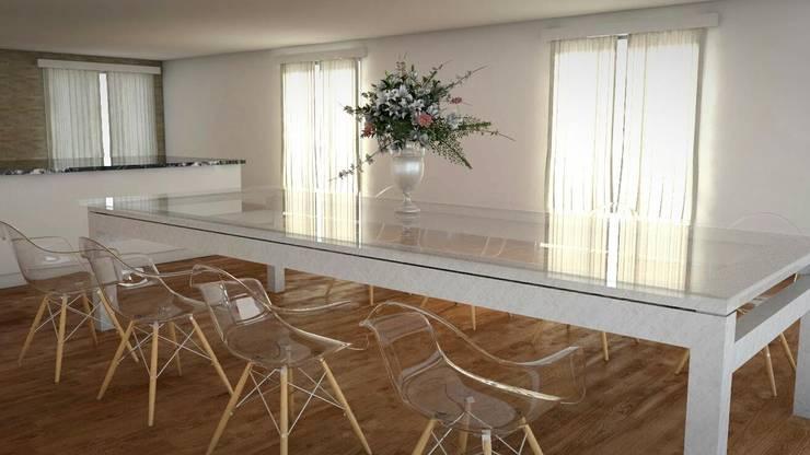 Idea de Comedor Principal 1: Comedores de estilo  por FyA Arquitectos