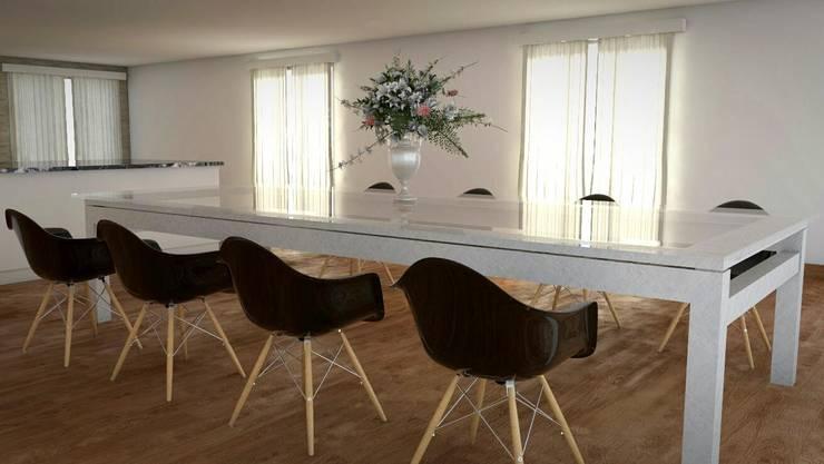 Prueba de Comedor Principal 2: Comedores de estilo  por FyA Arquitectos