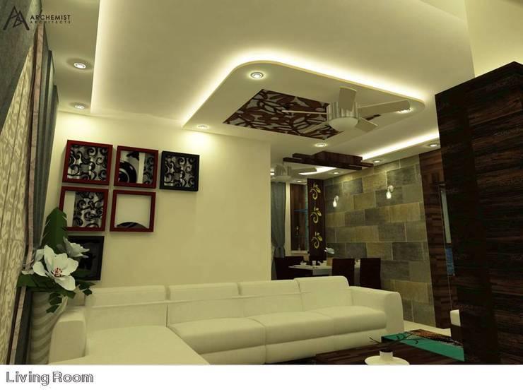 Apartment Interiors:   by Archemist Architects