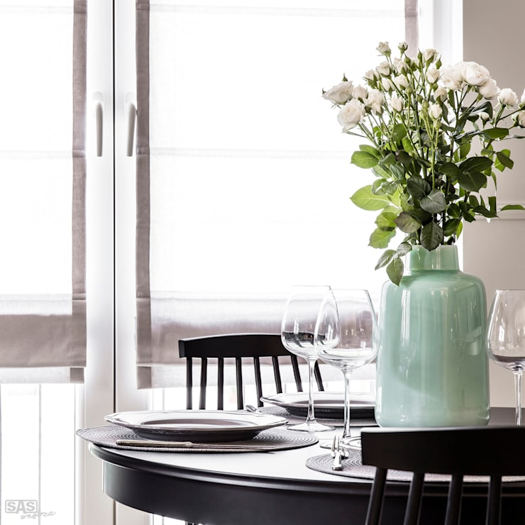 Dining room by SAS, Eclectic