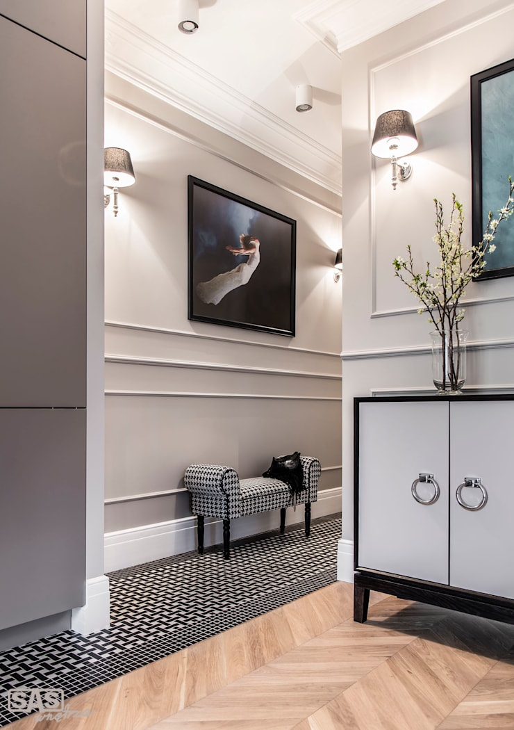 Corridor & hallway by SAS, Eclectic