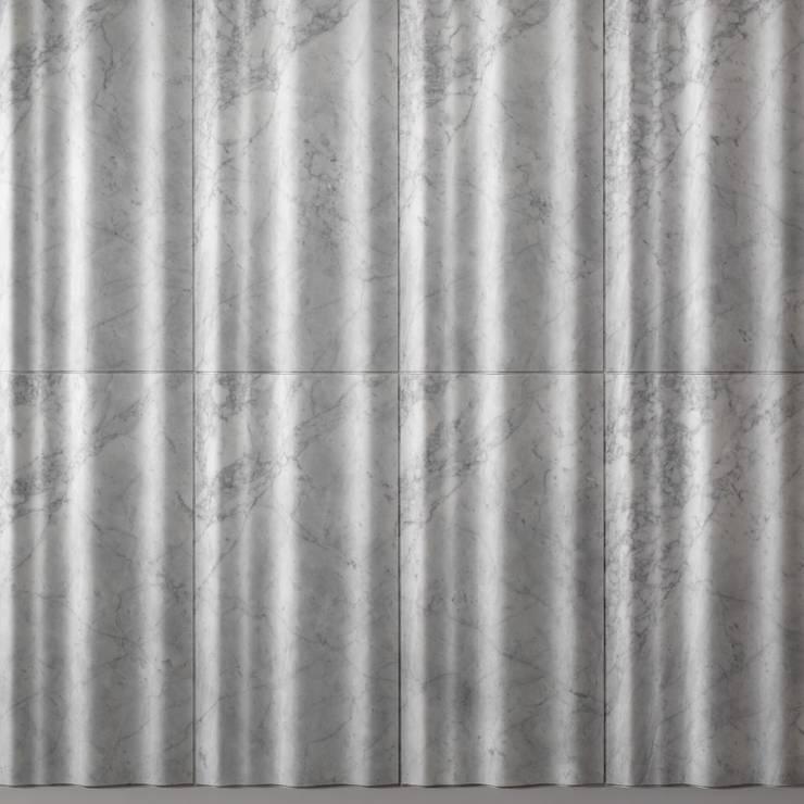 chiffon: Pareti & Pavimenti in stile  di LITHOS DESIGN,