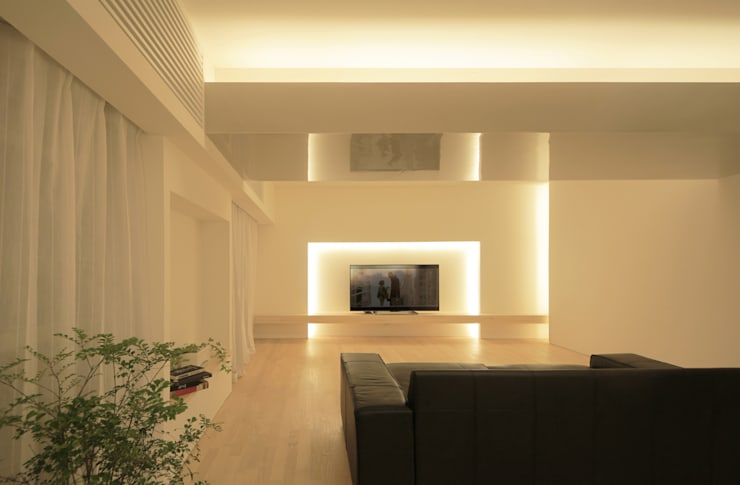 Projekty,  Salon zaprojektowane przez Jun Murata   |   JAM