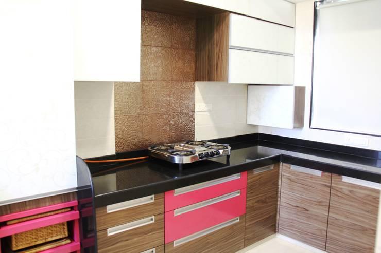 Prabhadevi :  Kitchen by Elevate Lifestyles