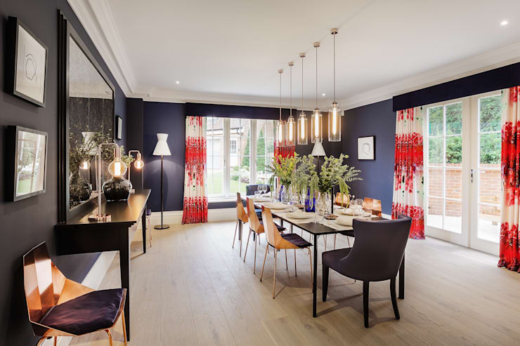 Dining room by Studio Hooton