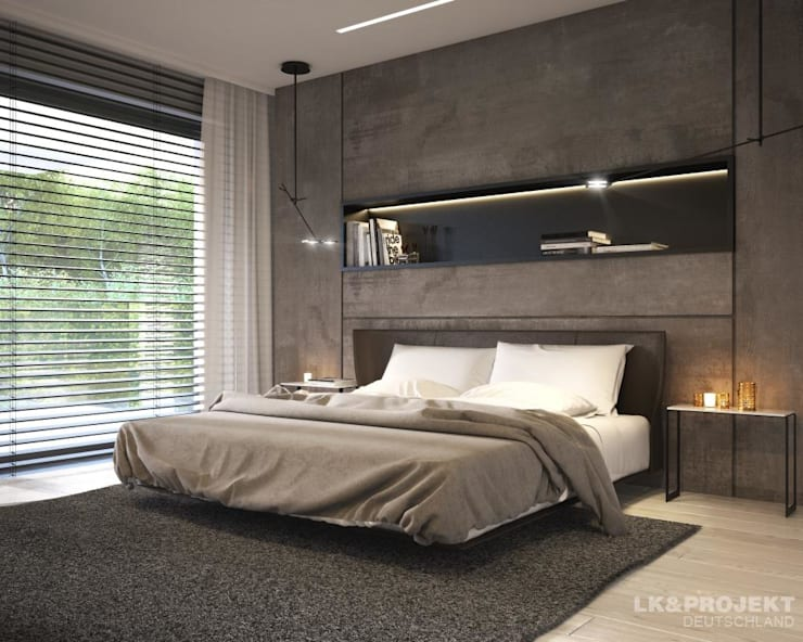 Bedroom by LK&Projekt GmbH