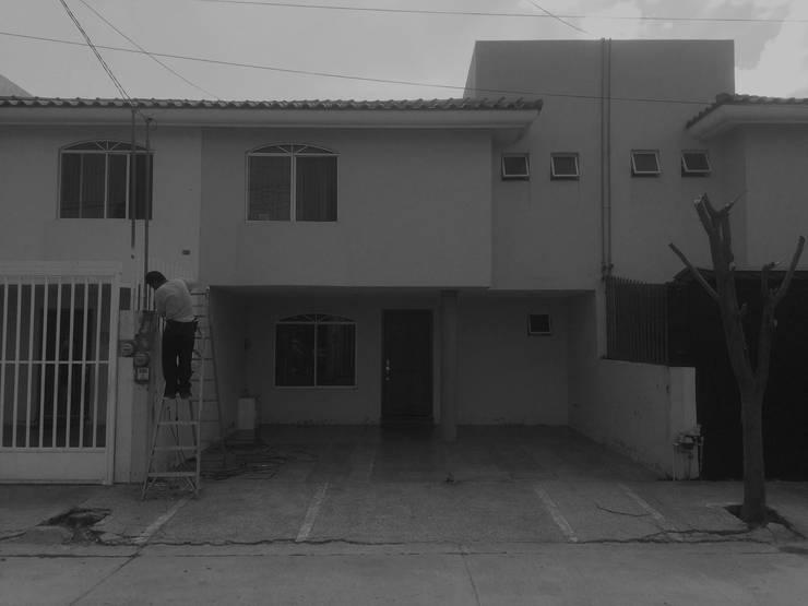 Prexistencia de CUBO ROJO Arquitectura
