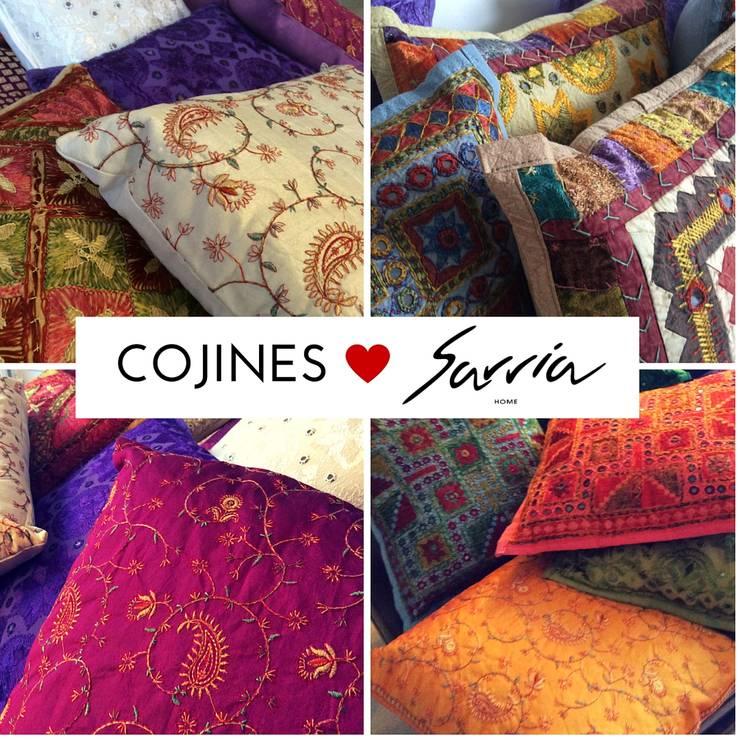 Ama la decoracion con textiles.: Hogar de estilo  por SARRIA HOME