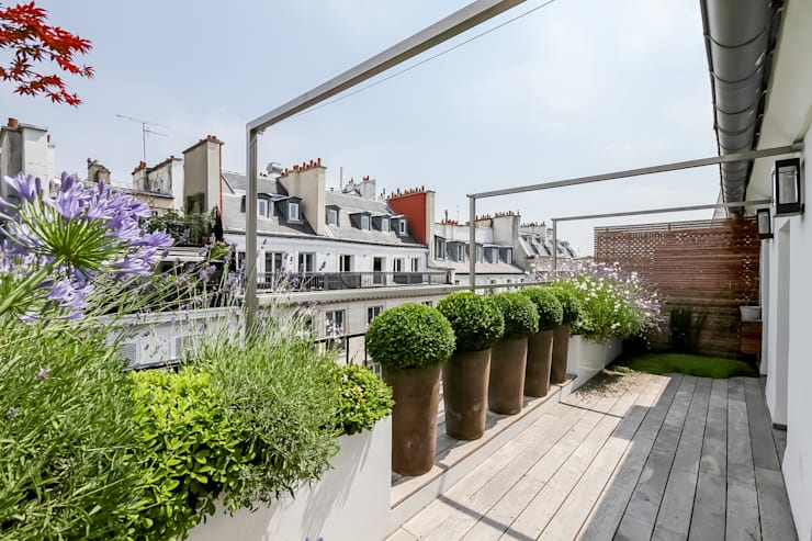 露臺 by Terrasses des Oliviers - Paysagiste Paris
