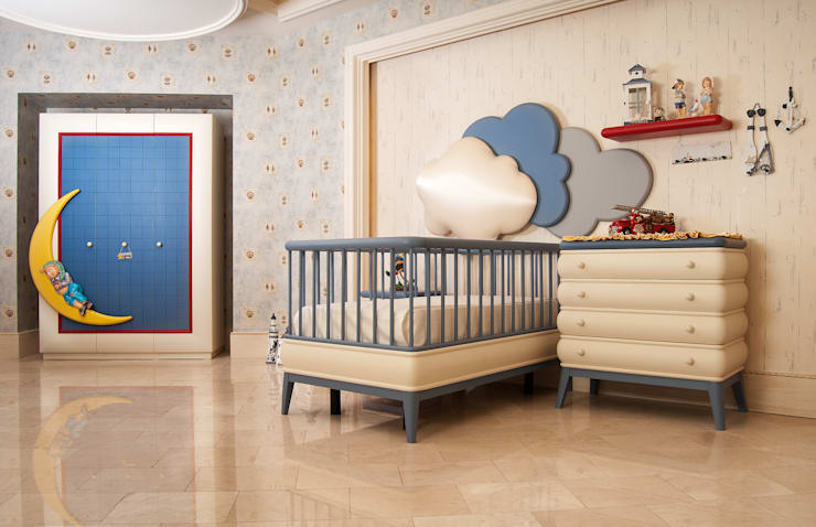 sage org.dan.tan.tur.tic.ltd.şti – bebek odası: modern tarz , Modern Ahşap Ahşap rengi