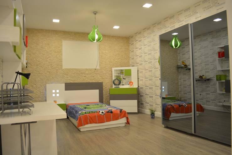 sage org.dan.tan.tur.tic.ltd.şti – derin genç odası: modern tarz , Modern Ahşap Ahşap rengi