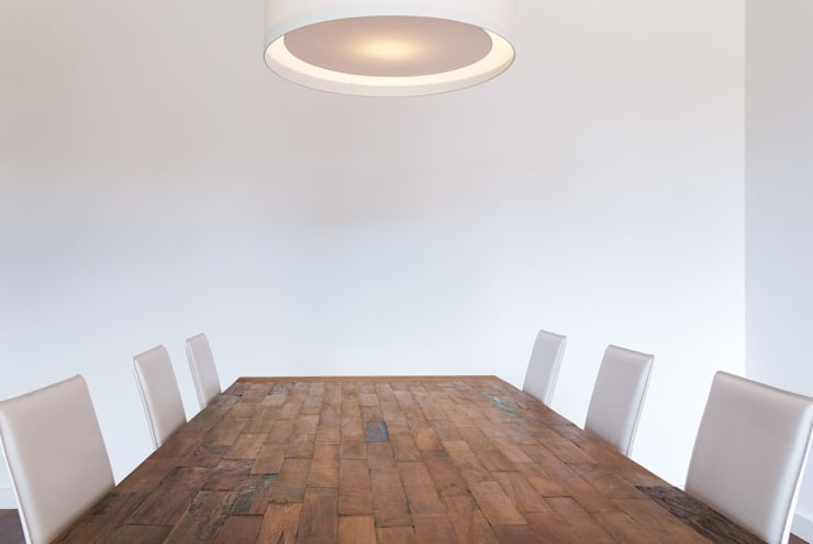 L'orangerie: Salas de jantar  por Zenaida Lima Fotografia