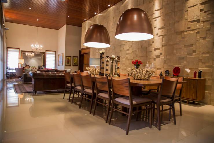 Comedores de estilo moderno de Érica Pandolfo - arquitetura / interiores