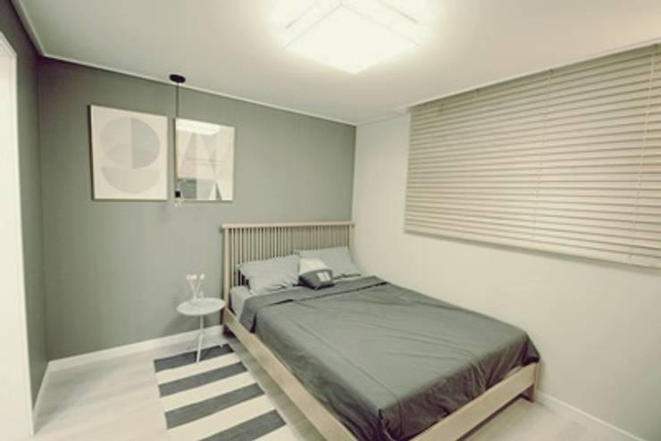 일산 홈스타일링 (Ilsan homestyling): homelatte의  침실
