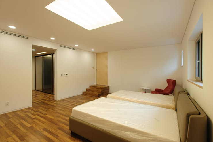 평창동 주택 (Pyeongchangdong House) : 위빌 의  침실