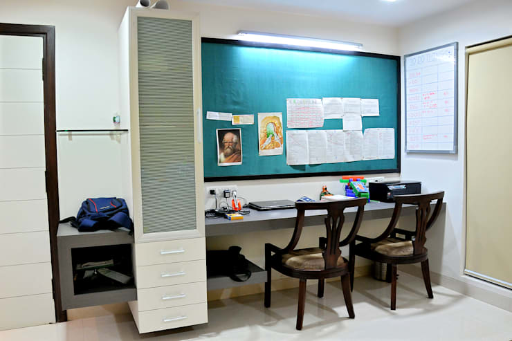 Dhiren Tharnani: modern Study/office by IMAGE N SHAPE