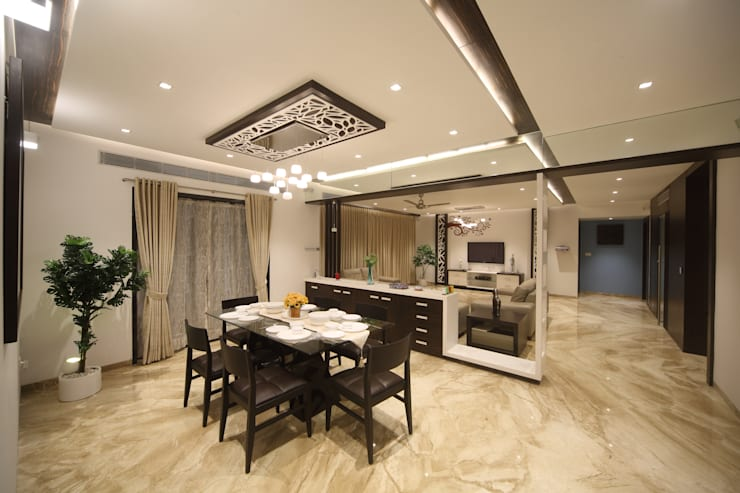 Samrath Paradise: modern Dining room by IMAGE N SHAPE