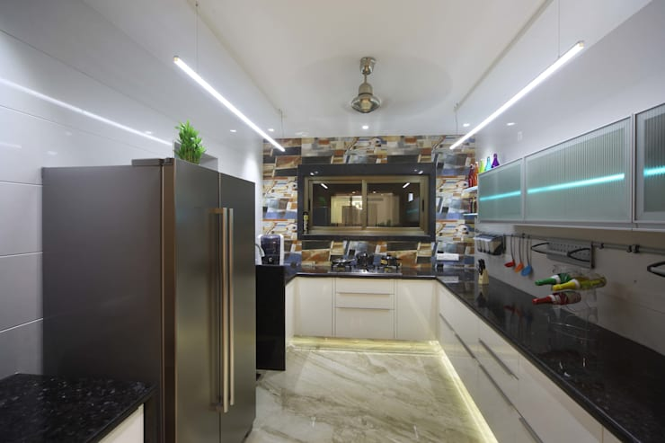 Samrath Paradise: modern Kitchen by IMAGE N SHAPE