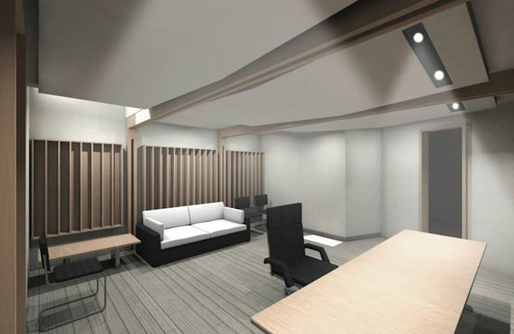 Sala de Control - Estudio CEDA: Edificios de Oficinas de estilo  por SZAA (Sarmiento Zamora Associated Architects)