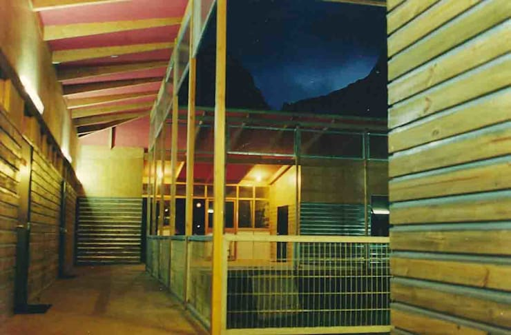 """Escuela """"Dresden"""": Escuelas de estilo  por pacific architecture chile,"""