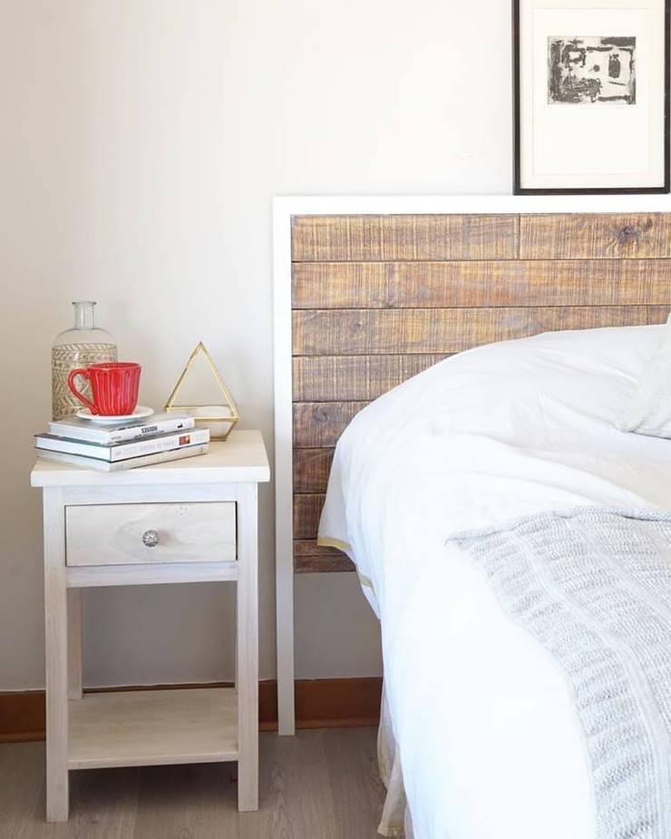 Casa KC: Dormitorios de estilo  por NAU DISEÑO Y CONSTRUCCION,