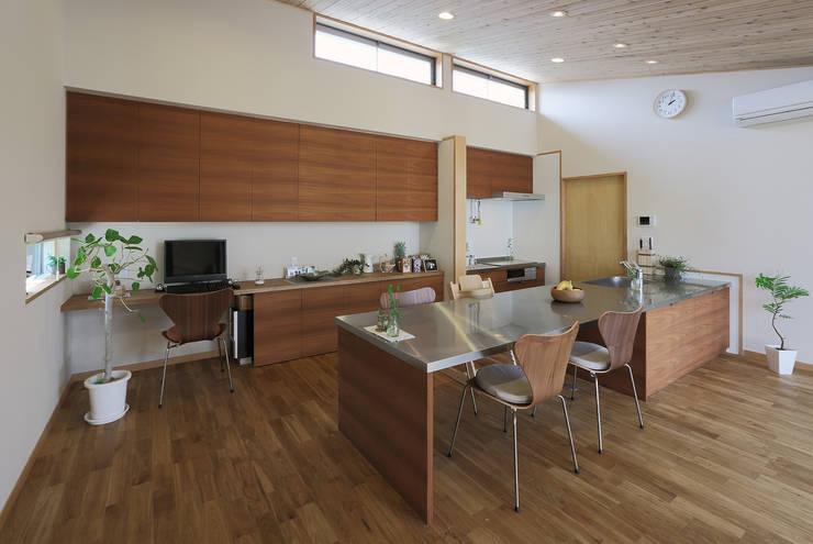 Projekty,  Kuchnia zaprojektowane przez ATELIER N