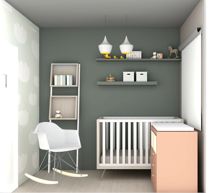 C&L – :  Kinderkamer door MEL design_