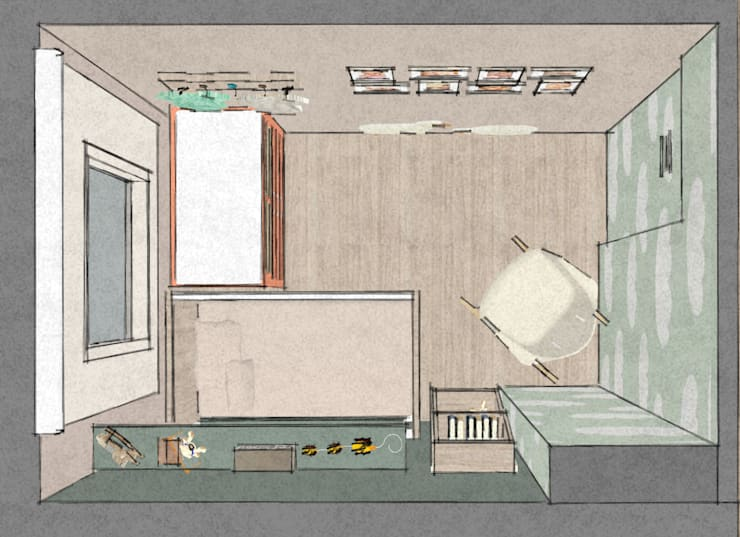C&L – :  Kinderkamer door MEL design_, Scandinavisch