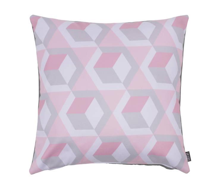 Woonkussen Graphex soft pink: modern  door NL31 , Modern