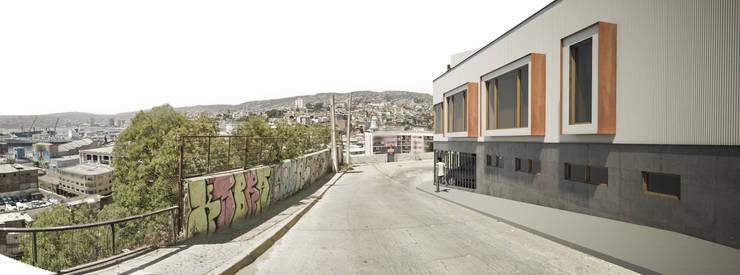 Casas de estilo  de Materia prima arquitectos, Moderno