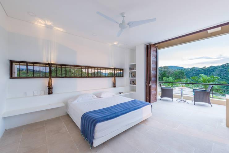 Dormitorios de estilo minimalista por David Macias Arquitectura & Urbanismo