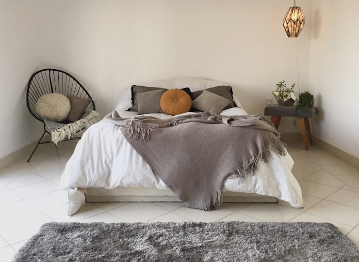 eclectic Bedroom by Talisma