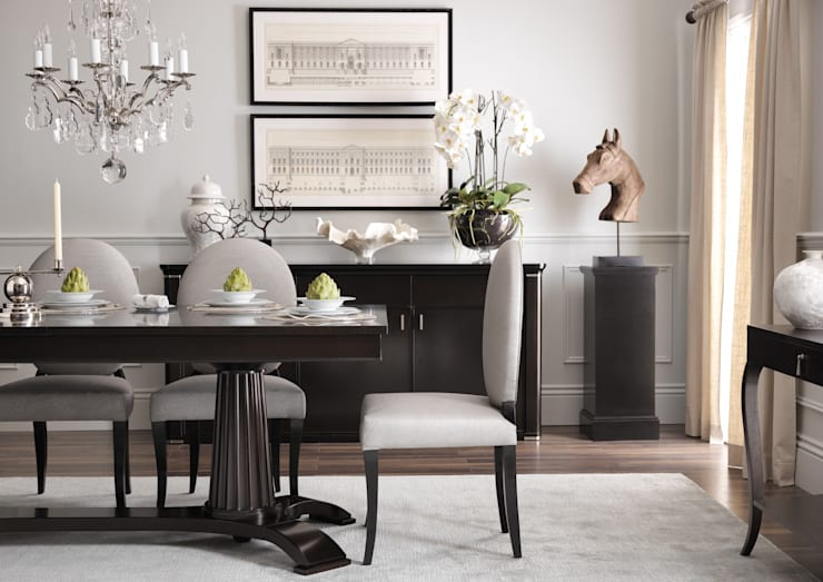 SS16 Style Guide - Coastal Elegance - Dining Room:  Dining room by LuxDeco