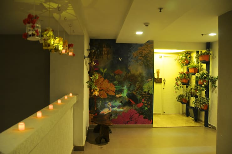 Corridor & hallway by Design Kkarma (India)