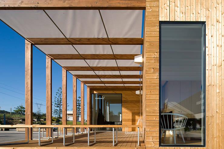 Treehouse: Casas minimalistas por Jular Madeiras