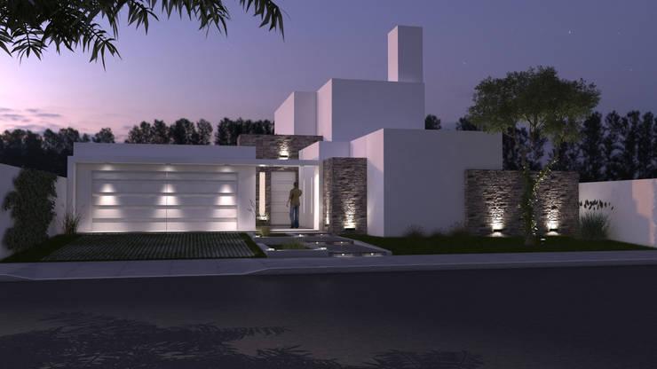 Vivienda familiar: Casas de estilo  por Arquitecta María Pía Cadelago
