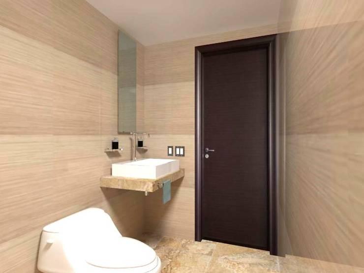 Baño: Baños de estilo  por Ingenieros y Arquitectos Continentes