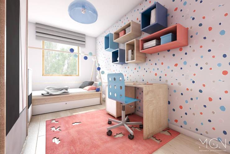 غرفة الاطفال تنفيذ MGN Pracownia Architektoniczna