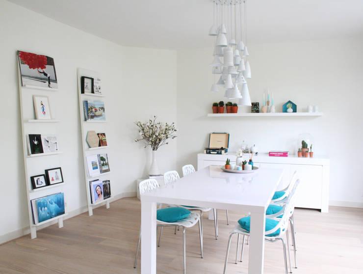 Appartement Amsterdam:  Eetkamer door By Lenny