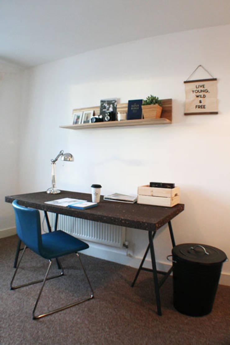 Appartement Dublin:  Slaapkamer door By Lenny