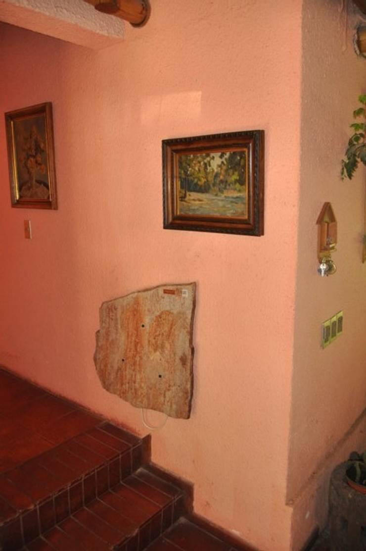 Calefacción Centro de Eventos Castaños del Maipo: Salas de eventos de estilo  por ALI-CURA,Rústico